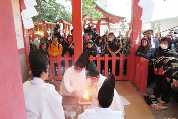 どんど焼祭1