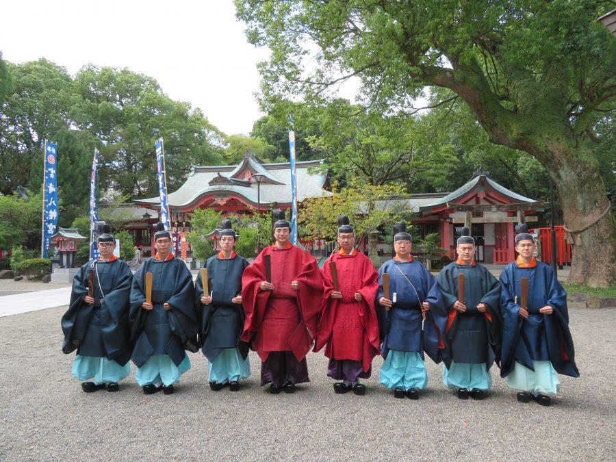 秋の例祭 - 宮崎八幡宮